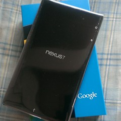 Nexus 7 キター