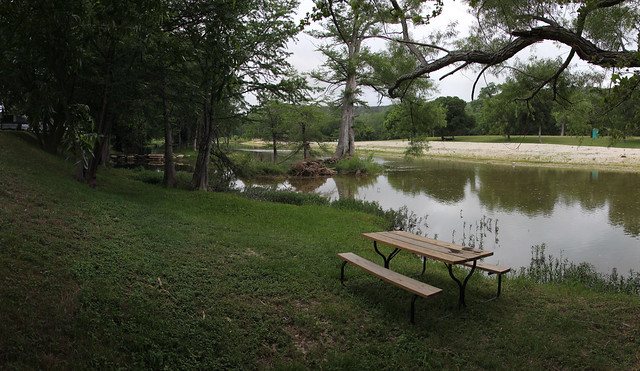 By the River RV Park Picnic Bench