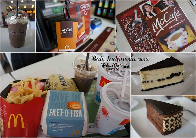 Bali Day 4 Mcd & McCafe