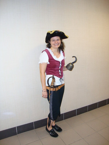 My gym pirate outfit