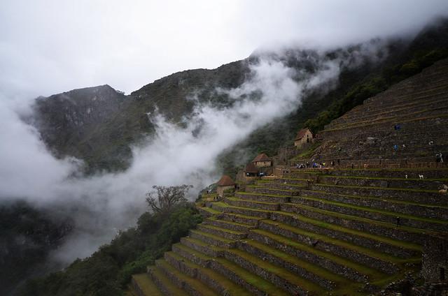 Terrazas de Machupicchu