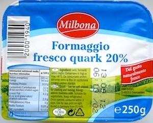 Dieta Dukan Formaggio fresco Quark Milbona