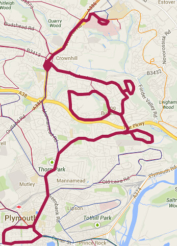 Plymouth Bus Routes (2)