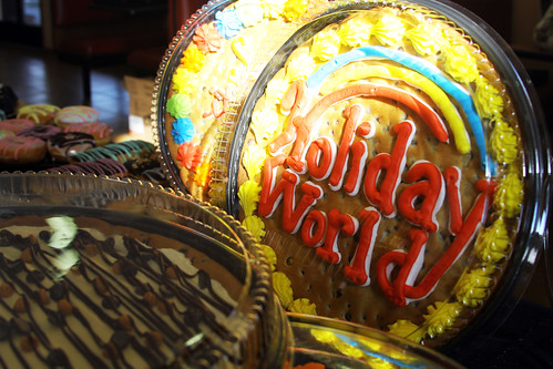 Holiday World cookie cake!
