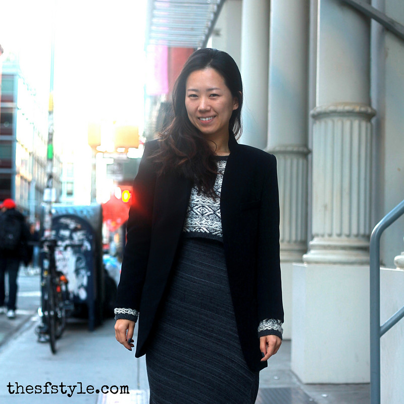 layered maxi dress, crop top, blazer, new york streetstyle fashion blog, STREETFASHIONSTYLE,