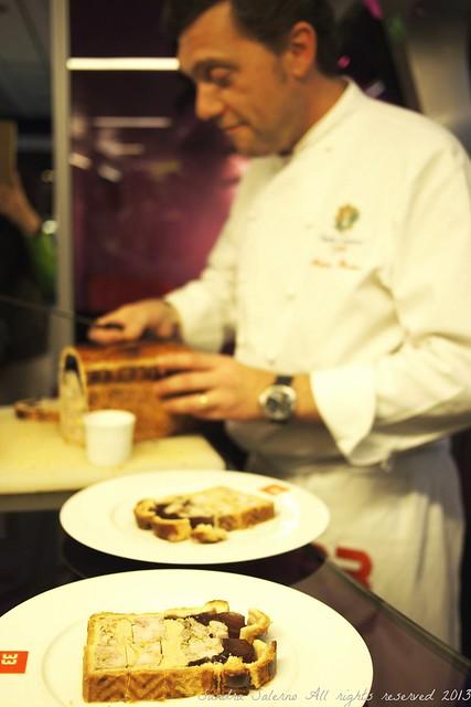 Diner sul Tgv : chef Berthod restaurant 33 Cité