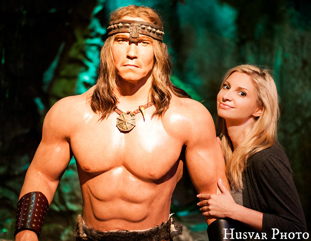 hollywood wax museum conan in_the_know_mom