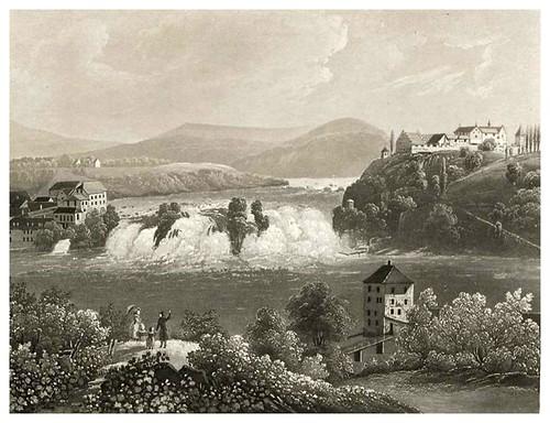 001-Cascada del Rhin-Cinquante vues pittoresques de la Suisse… -Vía e-rara