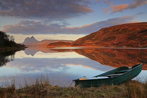 A Calm Cam Loch. by Gordie Broon.