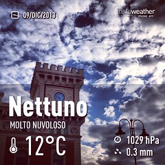 #weather #instaweather #instaweatherpro  #sky #outdoors #nature #world #love #followme #follow #beautiful #instagood #fun #cool #like #life #nice #happy #colorful #photooftheday #amazing #nettuno #italia #day #autumn #morning #it
