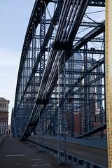Truss structure on the Smithfield Bridge