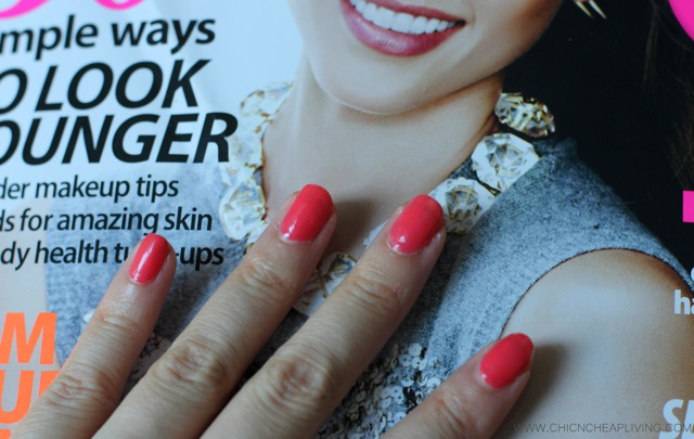 Deborah Lippman Girls Just Want to have fun with magazine - by Chic n Cheap Living