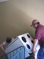 Before - Removing Old Appliances