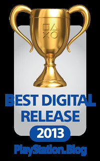 PS.Blog Game of the Year 2013 - Best Digital Release Gold