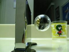 Nanodot Neodynium GYRO in stable levitation field v2 by tend2it