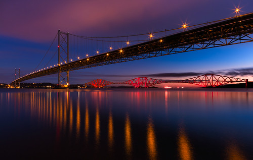 The Forth Bridges by Billy Currie