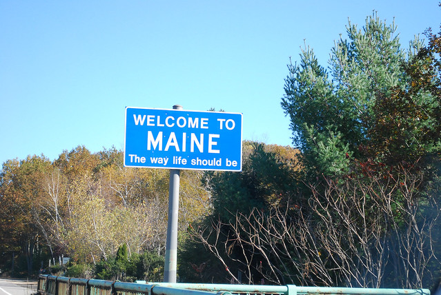 Leg 3-Welcome to Maine