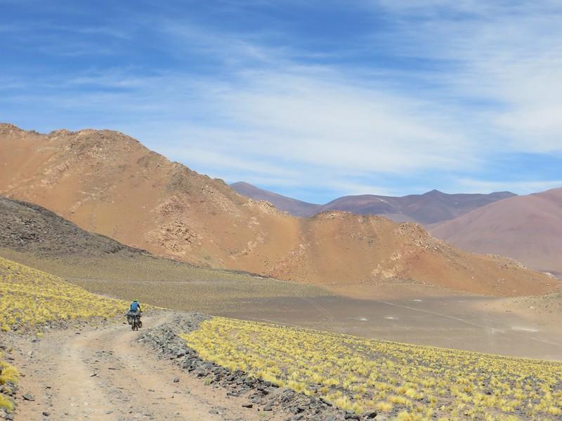 Beautiful colours near Caballo Muerto