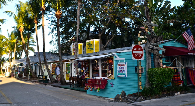 Key West, Florida- Bike Tour - stores