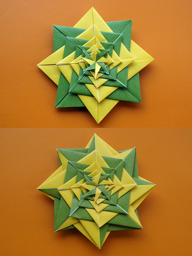 Origami Spiral 2 (Tomoko Fuse)