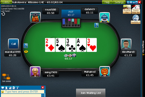 William Hill Poker iPad, iPhone
