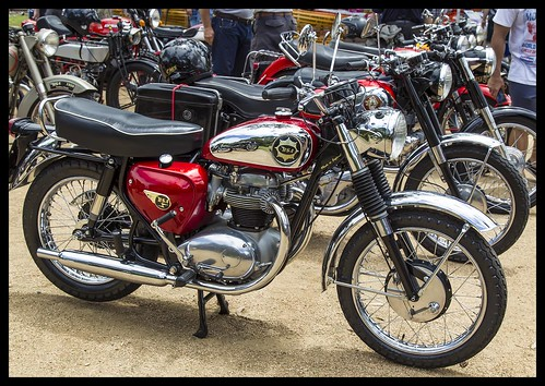 Samford Australia Day BSA Motor Bike-1=