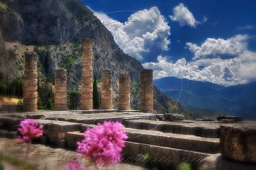 Δελφοί Ναός του Απόλλωνος Delfi Temble of Apollo
