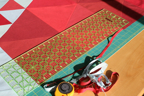 Amalgam Quilt - Piecing