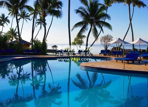 斐济沃里克度假村(Warwick Fiji Resort & Spa)游泳池