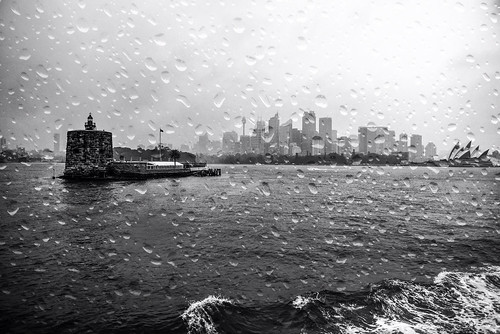 A Rainy Day on the Harbour
