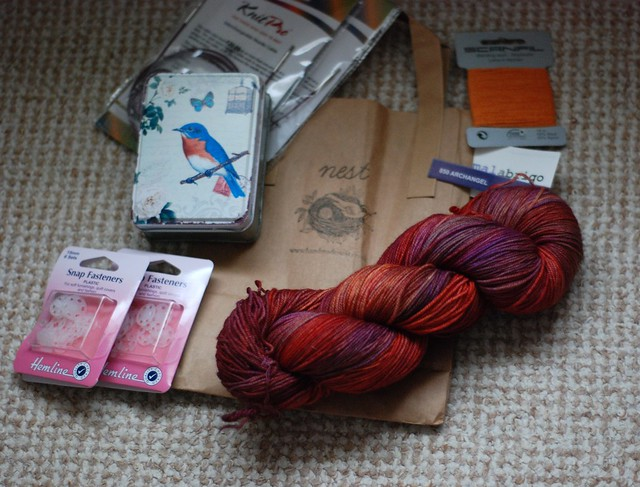 Yarn haul Nest London Malabrigo Sock Archangel