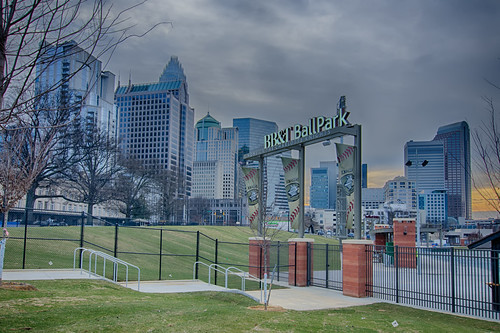 CHARLOTTE KNIGHTS STADIUM by DigiDreamGrafix.com