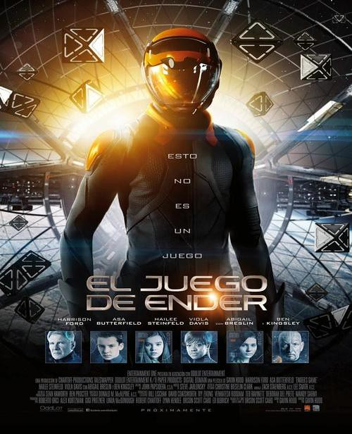 El Juego de Ender Ender's Game 2013 BrRip-Avi Latino Ciencia Ficcion MEGA