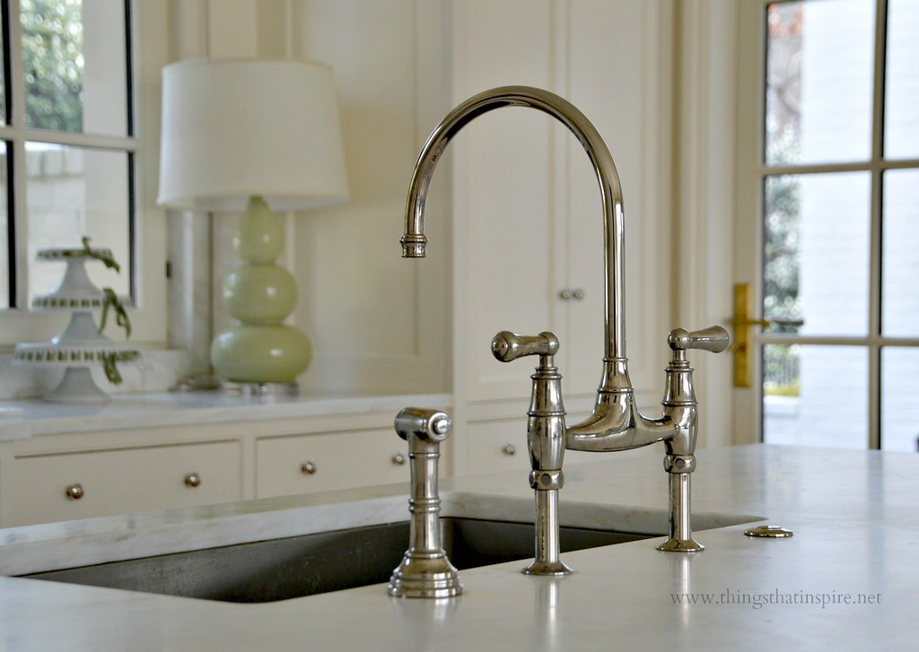 Things that inspire my kitchen sink and faucet for Kitchen sink faucets