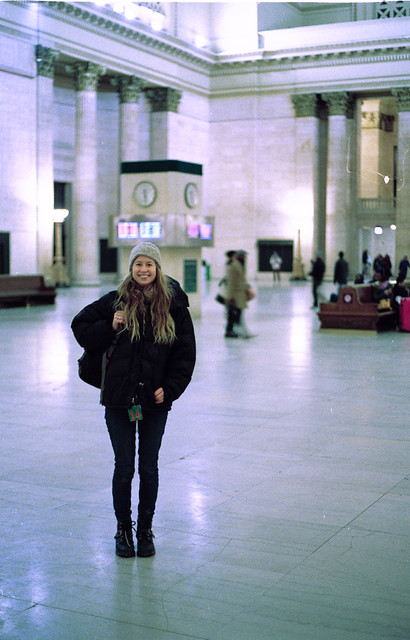 Anthea in Union Station