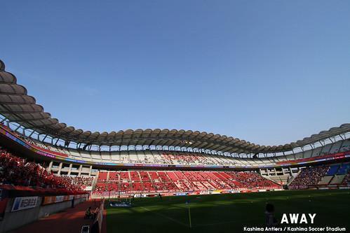 県立カシマスタジアム 鹿島vsFC東京