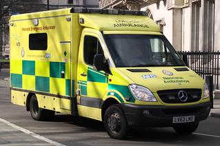 London Ambulance Service - Brand New Mercedes Sprinter Neonatal Transfer Emergency Ambulance ( LV63 LMO )