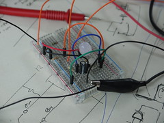 Bristol Hackspace: Two-Transistor Monostable