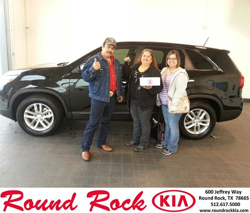 Thank you to Constantino Garcia Monsivais on your new 2014 #Kia #Sorento from Fidel Martinez and everyone at Round Rock Kia! #NewCar by RoundRockKia