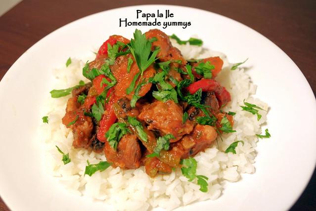 Orez cu legume si carne de curcan (11)