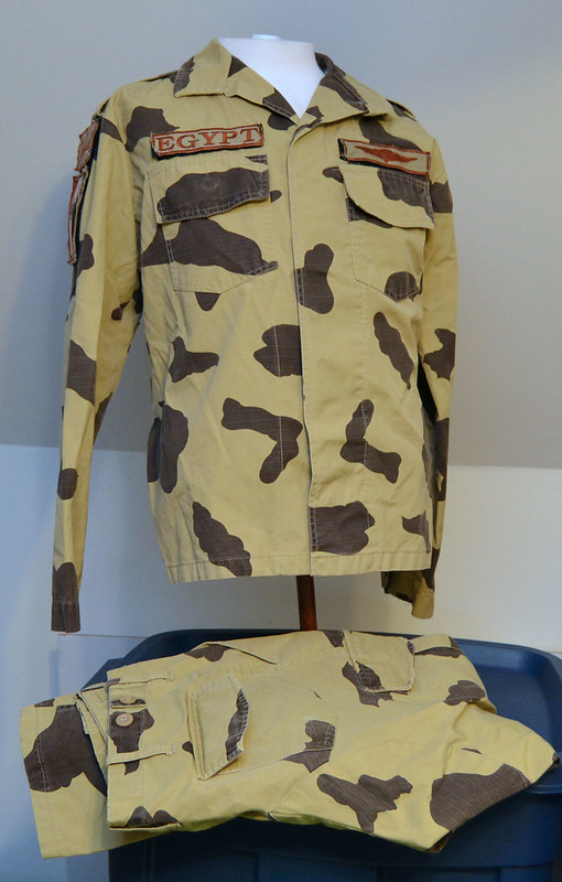 Egyptian Army Thunderbolt Camouflage Uniform 13317687484_cee250eb53_c