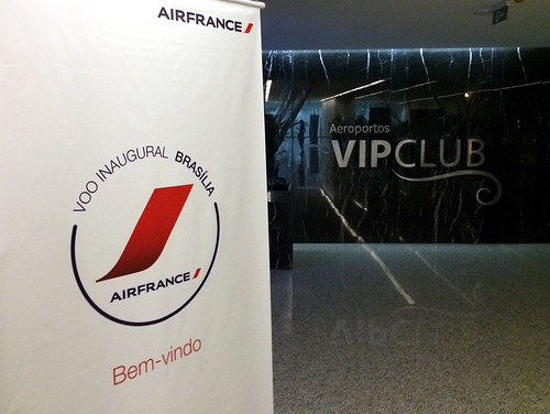 Voo Inaugural - Brasília Air France