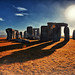 0114 Abstract Stonehenge by Jomoboy