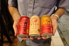 Delicious Suntory fruit beers.