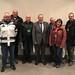 Achim Barchmann mit der Besuchergruppe von Arbeit & Leben Wolfsburg
