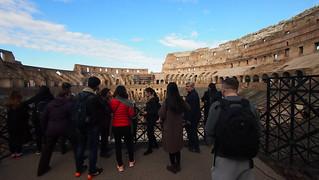 Image of Colosseum near Roma Capitale. trip20170208 rzym roma muzeumwatykańskie colosseum geo:lon=12493033 geo:lat=41889944