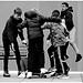 Skateboarders - Abbey Yard Bath by David Lewis-Baker