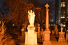 St Michael's Cemetery At Night .... Toronto, Ontario