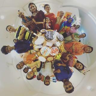 Shaily's birthday 🎂 #family #birthday #shoilee #360 #360photo #littleworld #littleplanet