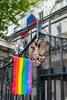 """London: Hundreds protest Chechnya gay """"concentration camps"""""""